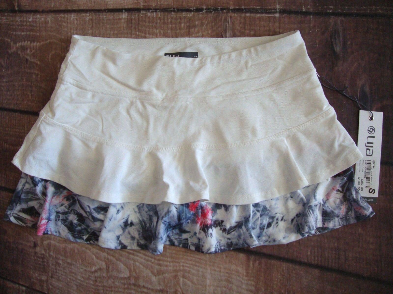 Lija Women's  Match Skort Layered Skirt Tennis Running Training - colors