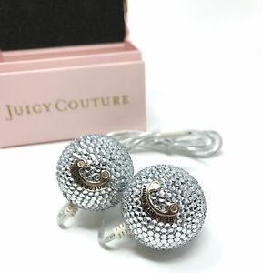 Juicy-Couture-Dazzle-Speakers-Silver-New-in-box