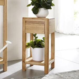 blumens ule gilga dekos ule beistelltisch wildeiche massiv ge lt ebay. Black Bedroom Furniture Sets. Home Design Ideas