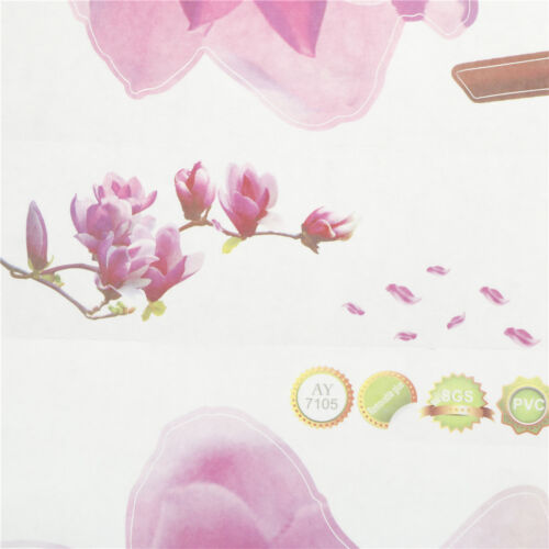 Do it yourself Magnolia Fleur Wall Decal Vinyl Autocollant Mural Art Living Room Home Decor JB