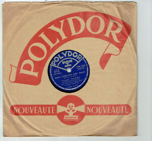 78T-25cm-Fernand-WARMS-Musette-Disk-QUAND-ARE-WE-GOING-TO-MARRY-POLYDOR-590184