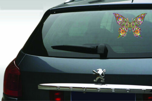 Psychedelic Butterfly Vinyl Decal