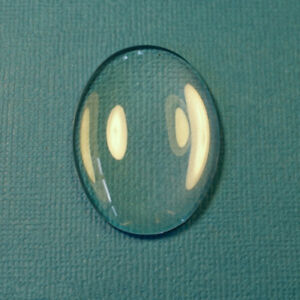 8 mm,10 mm Round Clear Glass Cabochons Oval 18 x 13 mm