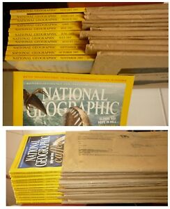 National-Geographic-annata-2005-completa-American-Edition-Perfect-conditions