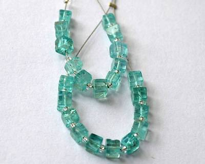 APATITE BEADS BOX 3.5 TO 4 MM 16 CTS 22 PCS (great for earings) - 997