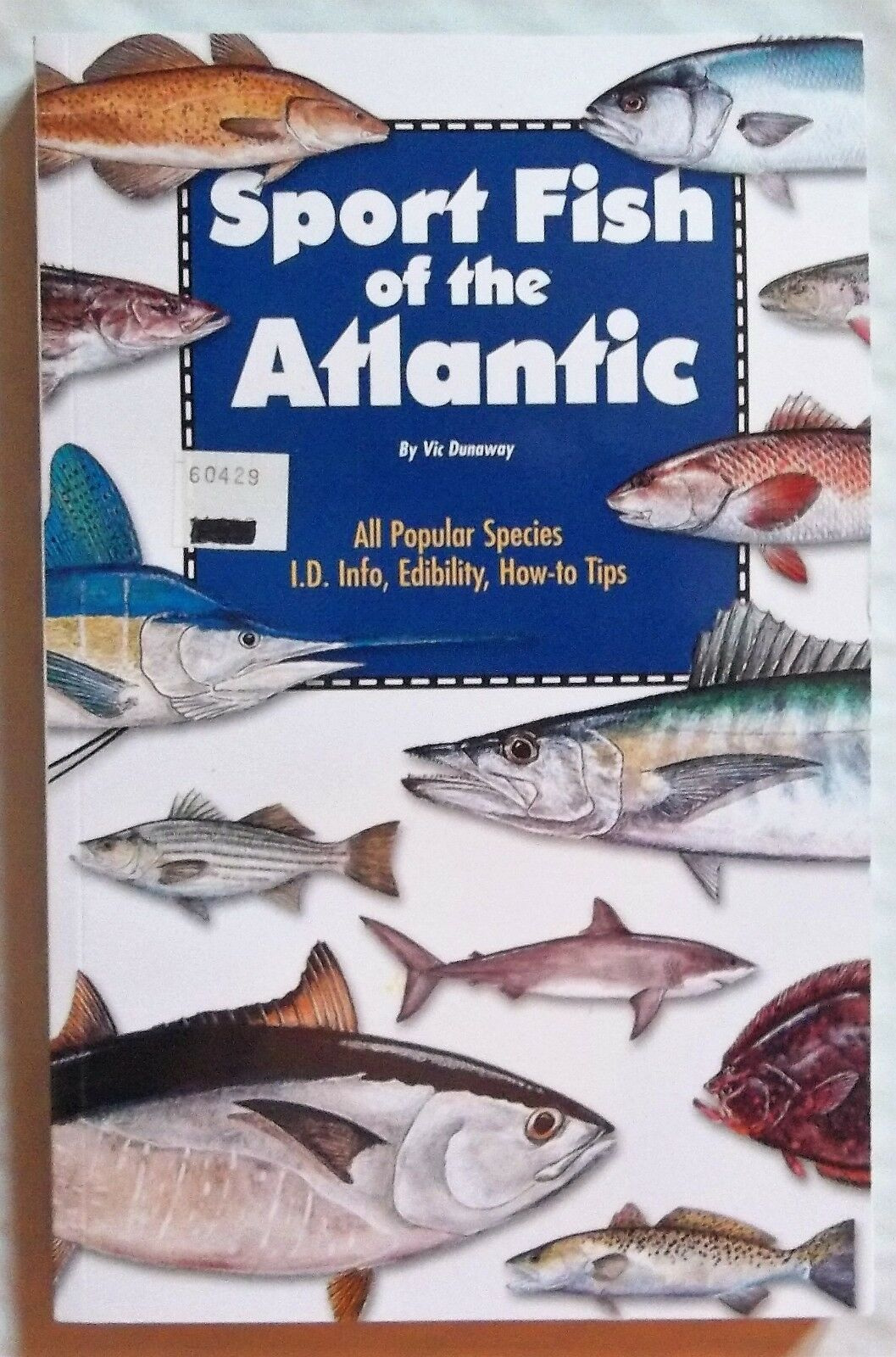 Sport Fish of the Atlantic I.D. Info Edibility How-to-T