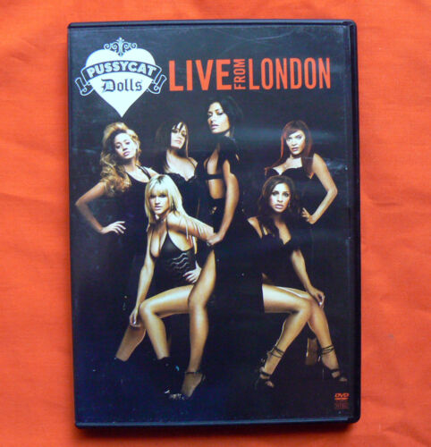 1 of 1 - The PUSSYCAT DOLLS DVD Live from London Nicole Scherzinger Music Video Show Song
