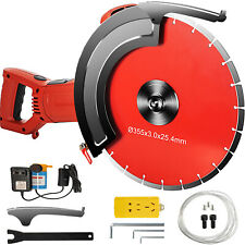 Vevor 12 Concrete Cut Off Saw Wet Dry Concrete Saw Cutter With Water Pump Amp Blade