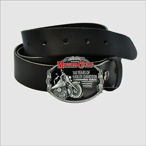 Vintage Harley-Davidson Anniversary  Biker Buckle Motorrad Gürtelschnalle *540