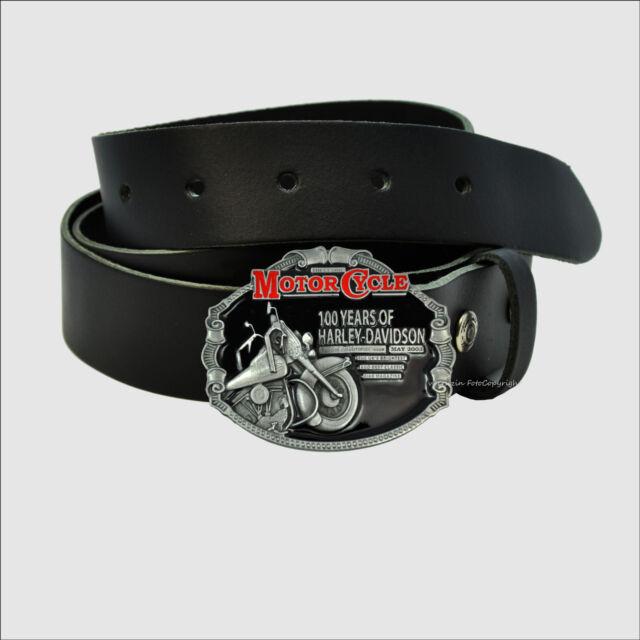 032f119c29f3fa Vintage Harley-Davidson Anniversary Biker Buckle Motorrad Gürtelschnalle  *540