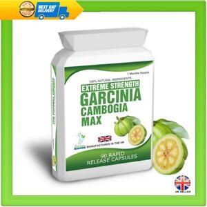 90-Garcinia-Cambogia-HCA-Pure-Clean-Detox-Max-Capsules-Weight-Loss-Diet-Tips