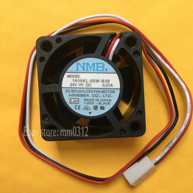 1pcs NMB-MAT 1608KL-05W-B39 fan 24V 0.07A 3wire 40*40*20mm 3pin