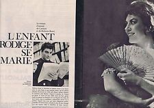 COUPURE DE PRESSE CLIPPING 1961 Roberto Benzi (6 pages)