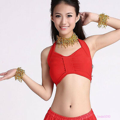 New Belly Dancing Top Bra US Size 32-34B//C 9 colours