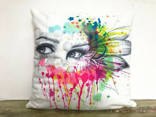 Simple painting Ink painting female Home Decor sofa Cushion Covers Pillow Case