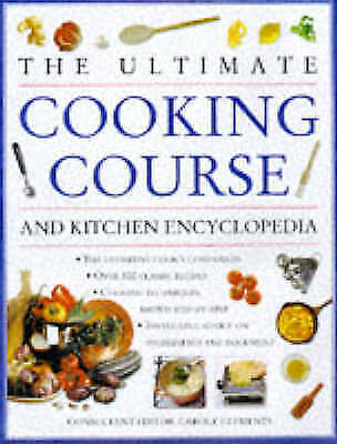 THE ULTIMATE COOKING COURSE AND KITCHEN ENCYCLOPEDIA, Acceptable, CAROLE CLEMETN