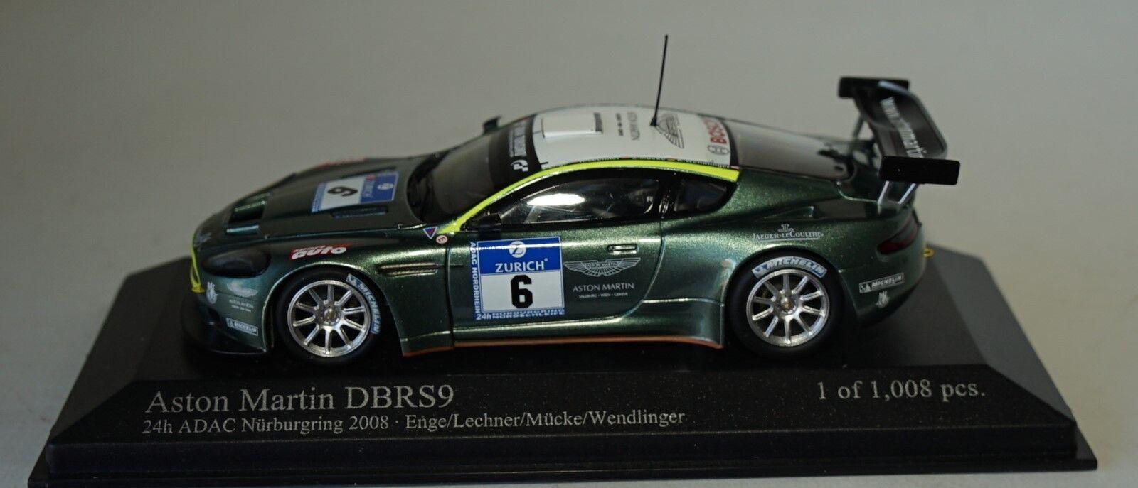 Minichamps 400081306 - 1 43 ASTON MARTIN DBRS 9 24HR Nurburgring 2008
