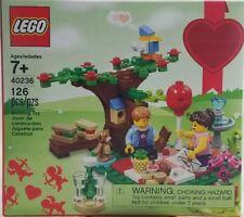 Lego 40236 romantique Valentine Picnic Seasonal 2017
