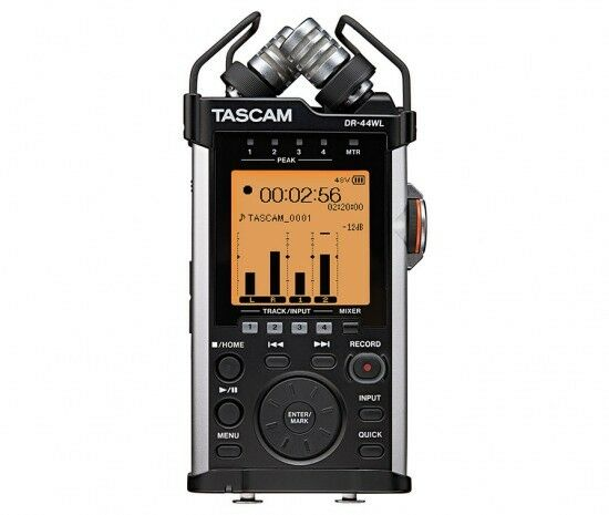 TASCAM DR-44WL - RECORDER PORTABLE A 4 TRACCE WITH FUNCTIONALITY WI-FI