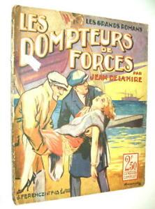 ANTICIPATION-SF-FANTASTIQUE-J-DE-LA-HIRE-AZTEQUE-DOMPTEURS-FORCES-ARMENGOL-1927