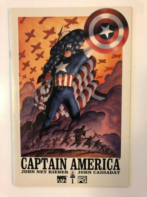 Captain America #1 Marvel Knights Comics (Jun, 2002) VF/NM 9.0 Cassaday