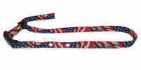 Sparky Petco Invisible Fence Compatible Nylon Patriotic Flag Dog Strap Usa Made