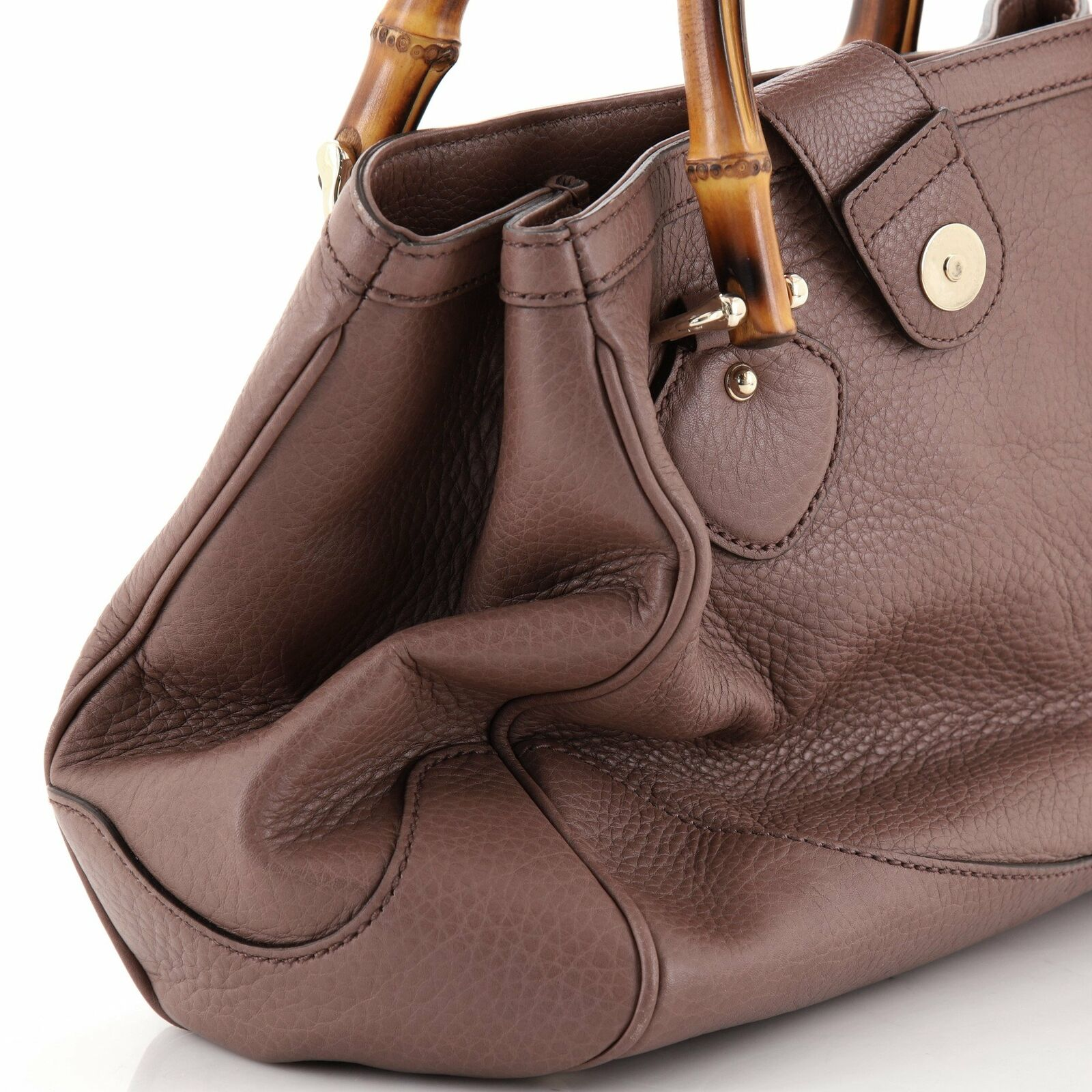 Gucci Diana Bamboo Top Handle Tote Leather Small - image 7