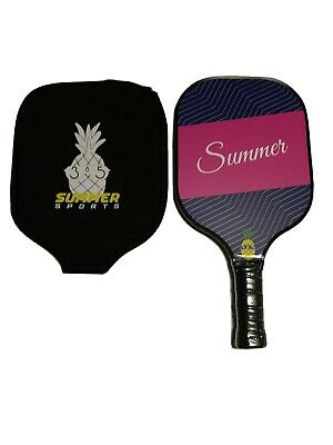 With Case Lightweight Summer Sports 365 Womens Pickleball Paddle