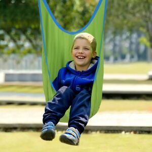 Kids Child Outdoor Swing Pod Hanging Seat Chair Rest Hammock With