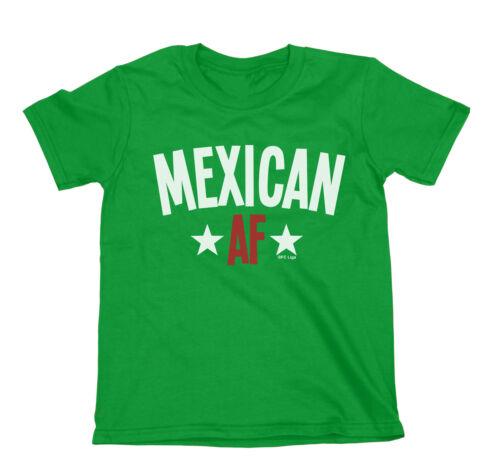 Mexican AF garçons ou filles Mexico T-shirt coupe du monde de football 2018 Kids Top De Sport