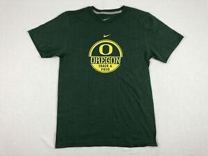 Nike-Oregon-Ducks-Green-Cotton-Short-Sleeve-Shirt-Multiple-Sizes-Used