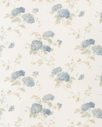 Pr33859-imprimés floraux bleu floral 2 /& Crème Papier Peint Galerie