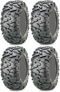Four 4 Maxxis Bighorn 2.0 ATV Tires Set 2 Front 25x8-12 & 2 Rear 25x10-12