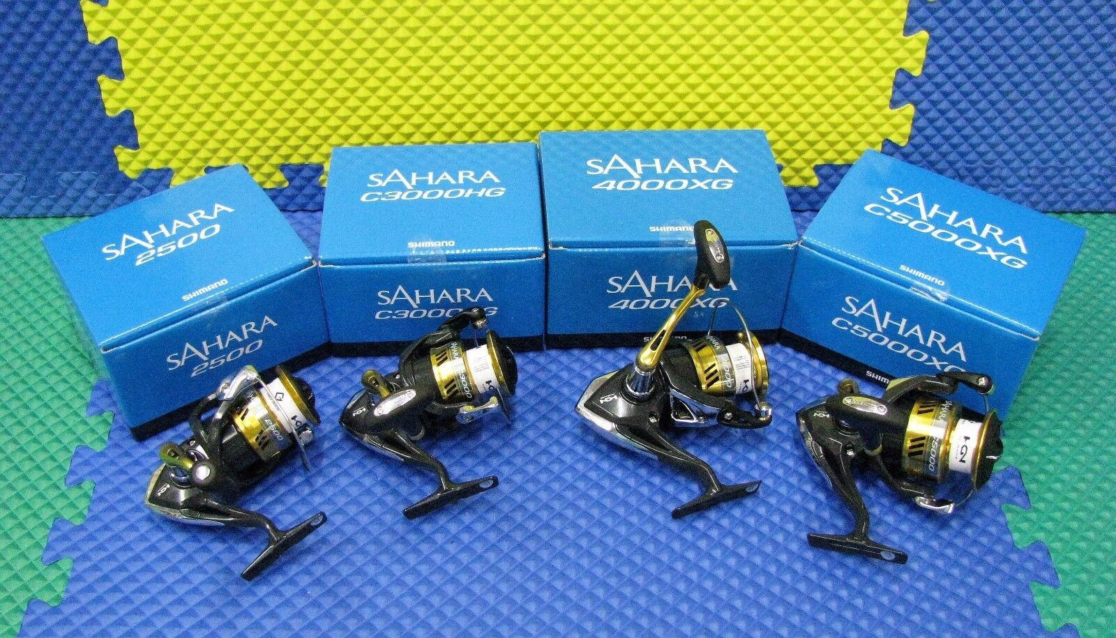 Shimano Sahara  Spinning Reels NEW FI Series bluee Box CHOOSE YOUR MODEL    lightning delivery