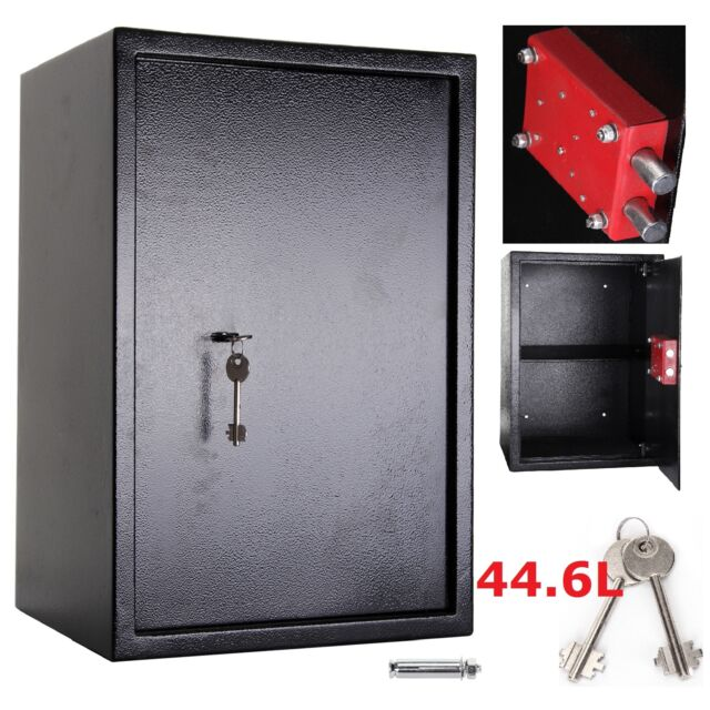 LARGE LAPTOP SAFE IPAD AMMO STEEL SAFE WITH 7 LEVER  KEY LOCK OFFICE HOME