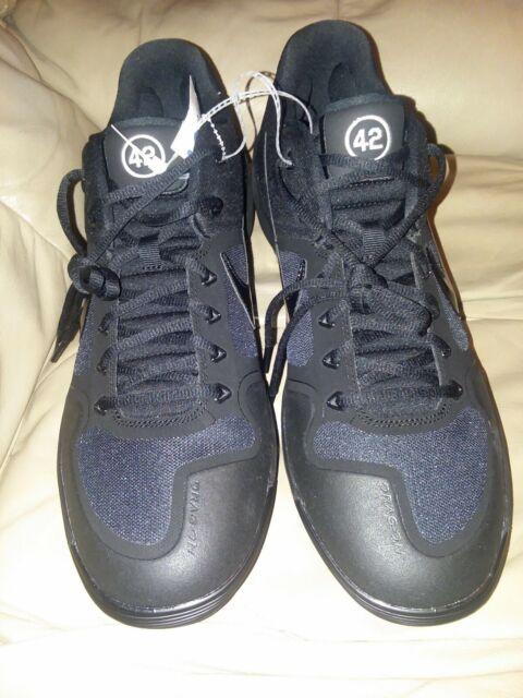 Size 14 - Nike Alpha Huarache Elite 2 Triple Black