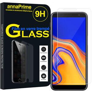 Lot-Pack-Film-Verre-Trempe-Protecteur-Ecran-Samsung-Galaxy-J4-J4-Plus-2018