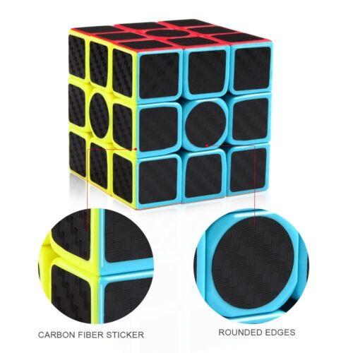 Moyu Mofangjiaoshi MF3 Carbon Fiber 3x3x3 Speed Cube Magic Cube Puzzle Toys