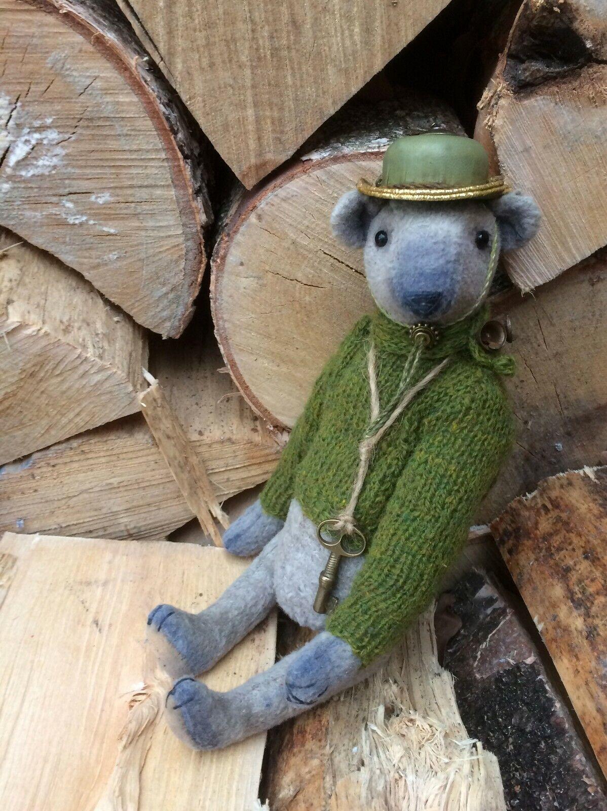 Artist  plush teddy bear OOAK  Martin