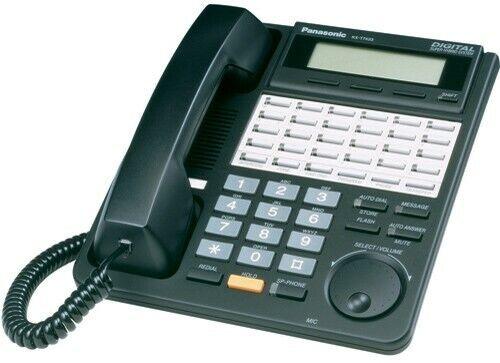 Panasonic KX-T7433-B LCD Speakerphone also Polycom soundstation