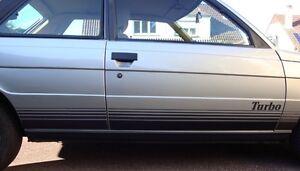 KIT COMPLET de bandes et filets adhésifs  Renault 11 turbo Phase 1