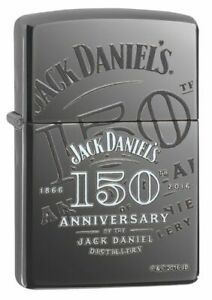 ZIPPO-JACK-DANIELS-150th-ANNIVERSARY-Blackice-RARITAT