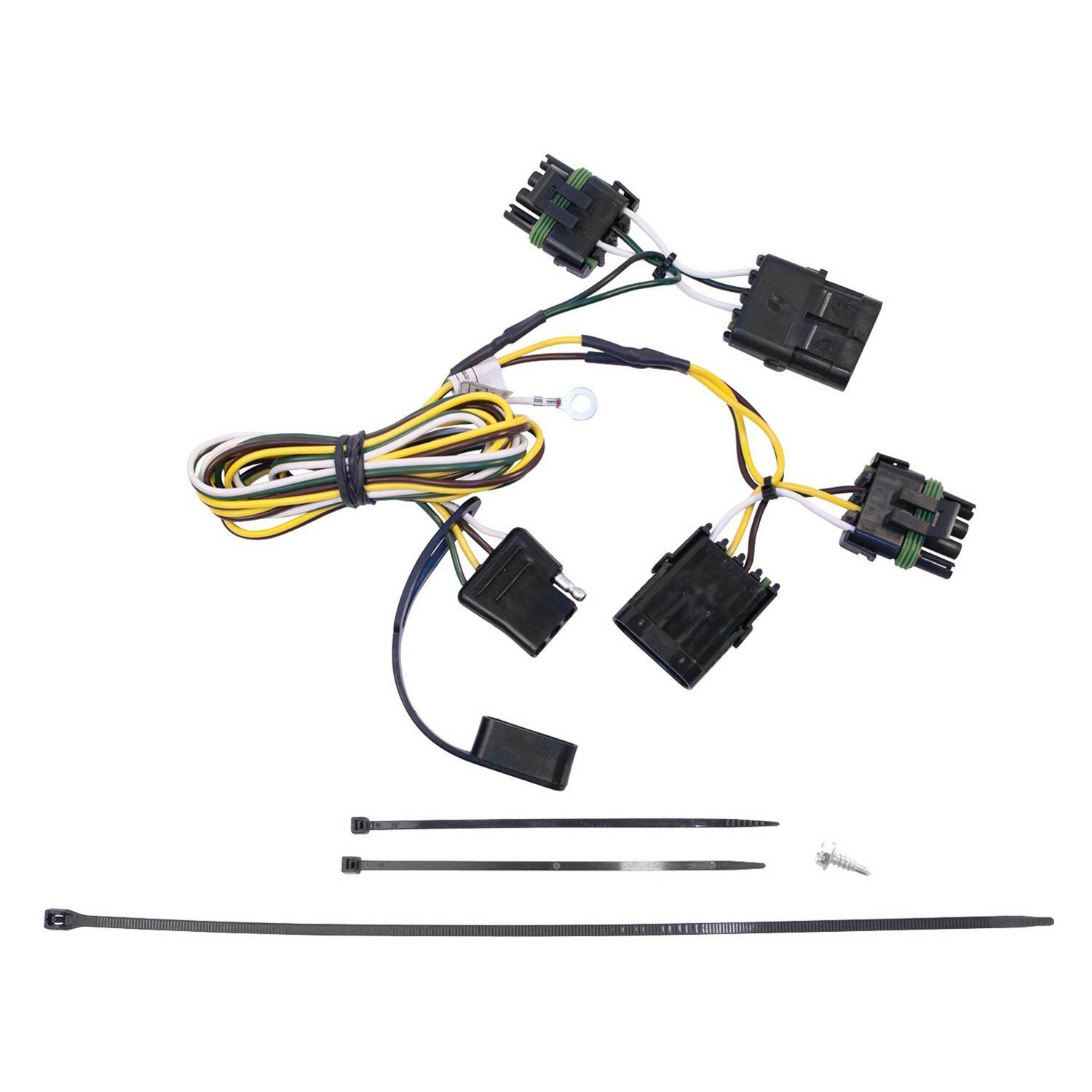 Westin 65 61121 T Connector Trailer Wiring Harness Kit For 91 97 Led Norton Secured Powered By Verisign