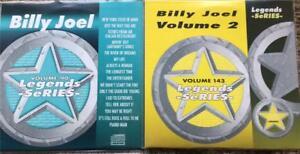 2-CDG-KARAOKE-LEGENDS-DISCS-BILLY-JOEL-GREATEST-HITS-VOL-1-amp-2-CD-G-1980-039-S-POP