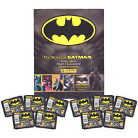 Panini - The World Of Batman Sticker Collection - Album & 10 Packs -
