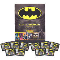 Panini - The World Of Batman Sticker Collection - Album & 10 Packs -