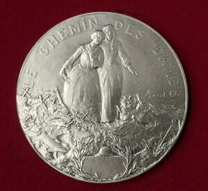 Collection-Premiere-Guerre-1914-1918-Medaille-Le-chemin-des-dames