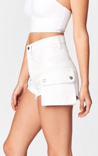 in 26 titanio Nwt vintage Pantaloncini Inspired Lf cargo Sz 208 White Carmar wqCFA