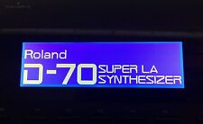 Roland W-30 A-50 A-80 D-70 JW-50 E-96 G-600 G-800 RA-800 pantalla gráfica!
