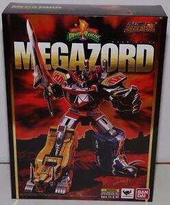 Soul Of Chogokin Gx-72 Dino Megazord Puissant Morphin Power Rangers Moulé Sous Pression Bandai